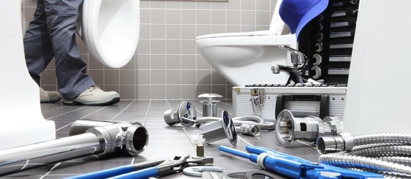 Montering af sanitet, toilet og bidet - VVS-service