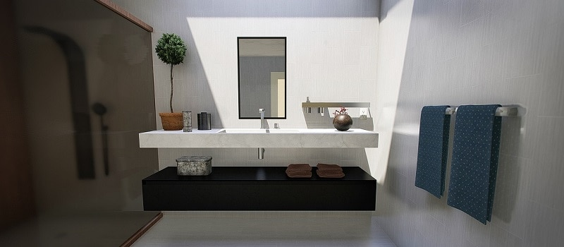 Nyt flot badeværelse - VVS-service