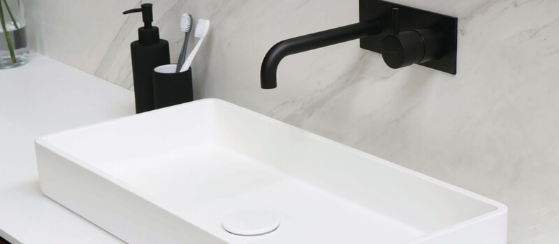 Montering af håndvask - VVS-firma Østerbro / Nordhavn
